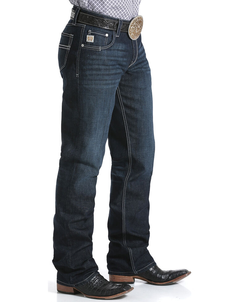 Cinch Men's Carter 2.4 Relaxed Bootcut Performance Jeans, Indigo, hi-res