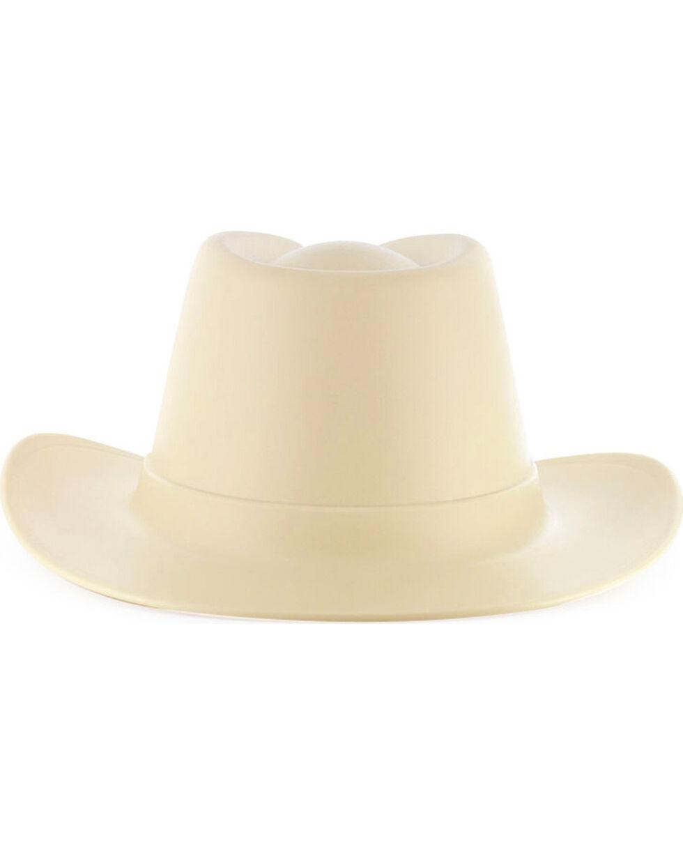 OccuNomix Tan Vulcan Cowboy Hard Hat , Brown, hi-res