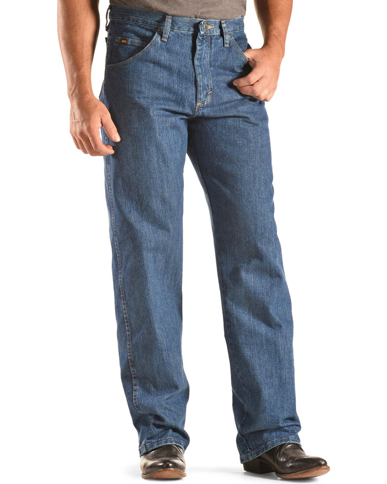 Wrangler 20X Men's No. 23 Relaxed Fit Jeans - Straight Leg , Indigo, hi-res