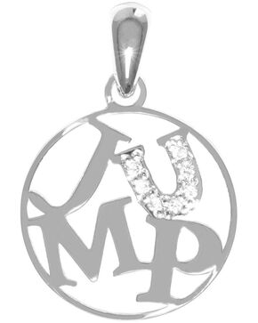 Kelly Herd Women's Silver Jump Pendant Necklace , Silver, hi-res
