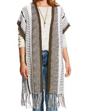 Ariat Women's Tabi Fringe Vest, Multi, hi-res