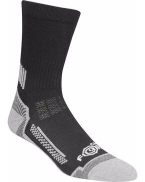 Carhartt Boys' Black Force Performance Crew Sock 3-Pack , Black, hi-res