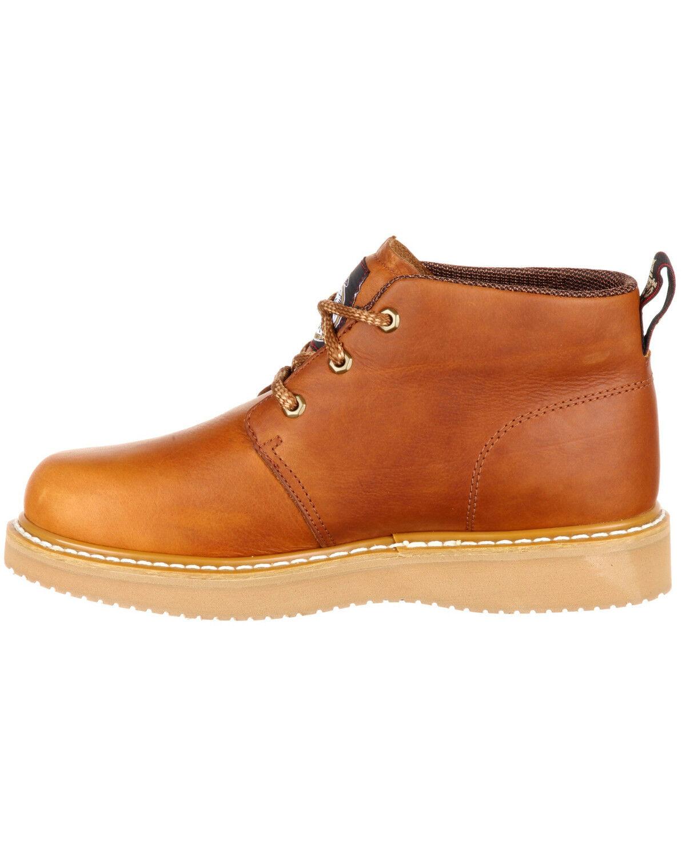 Wedge Chukka Work Shoes - Composite Toe