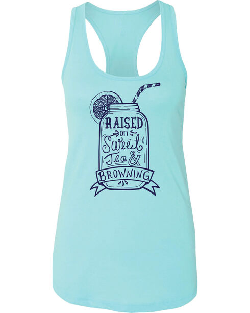 Browning Women's Turquoise Sweet Tea Tank Top , Turquoise, hi-res