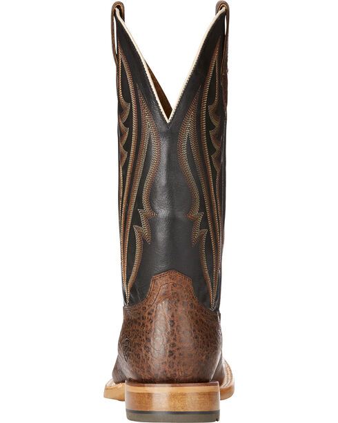 Ariat Men's Brown Quickdraw Match Up Pebbled Boots - Round Toe , Brown, hi-res
