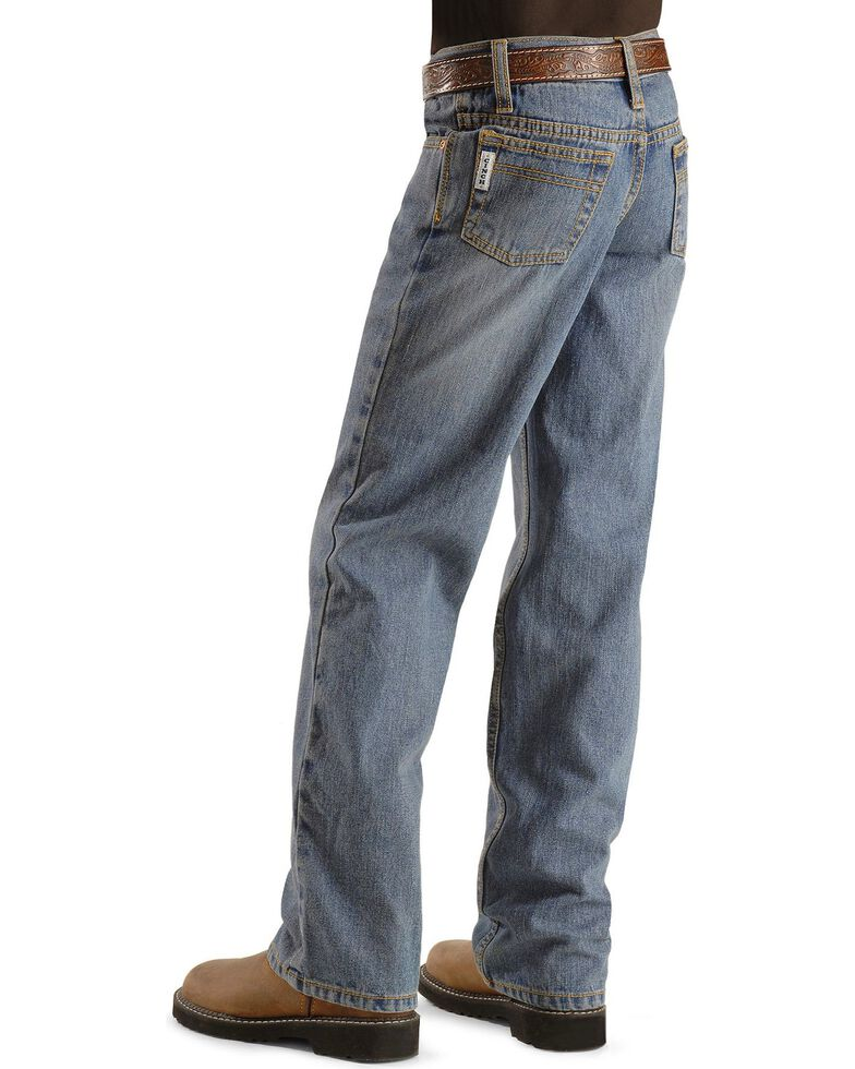 Cinch ® Boys' White Label Jeans - 8-16 Slim, Denim, hi-res