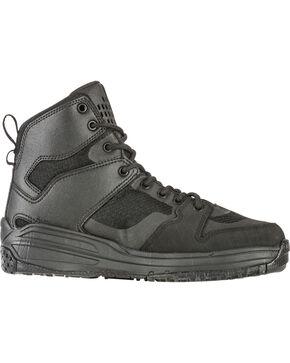 5.11 Tactical Men's Halcyon Tactical Stealth Boots - Round Toe, Black, hi-res