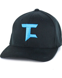 Tuf Cooper Performance Men's Ball Cap, Black, hi-res