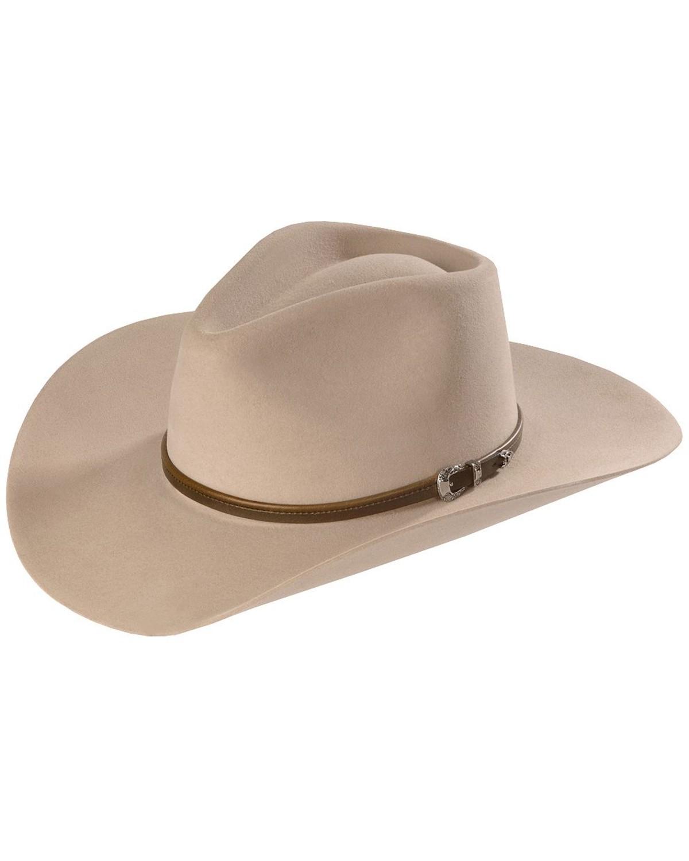 25e4ea391c5 Stetson 4X Buffalo Felt Seneca Pinch Front Western Hat