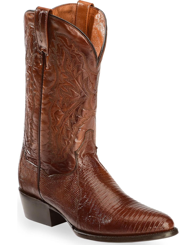 Dan Post Raleigh Lizard Western Boots