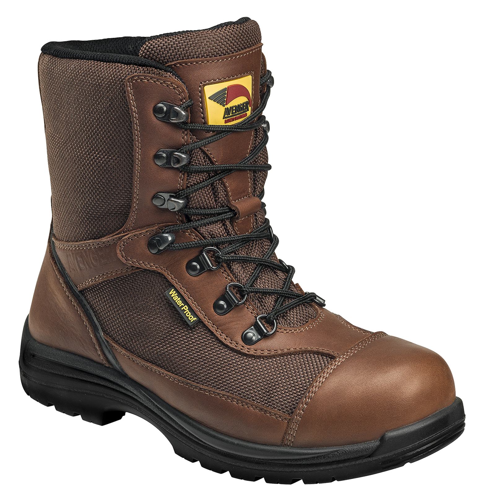 latest for whole family 2019 professional Avenger Boots Men's Waterproof Insulated Work Boots - Composite Toe