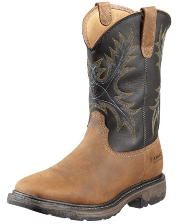 Ariat Workhog Waterproof Work Boots