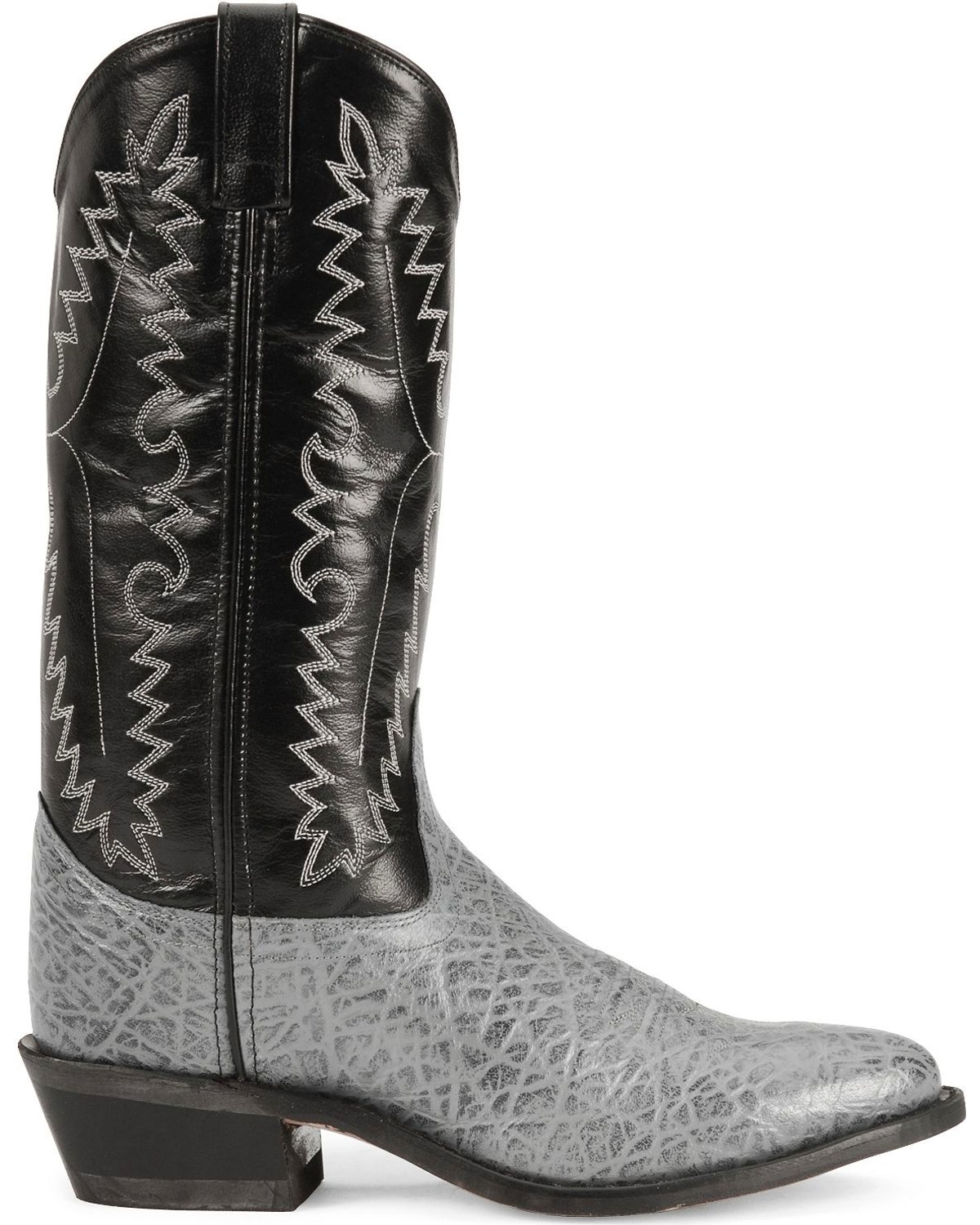 Old West Elephant Print Cowboy Boots Sheplers