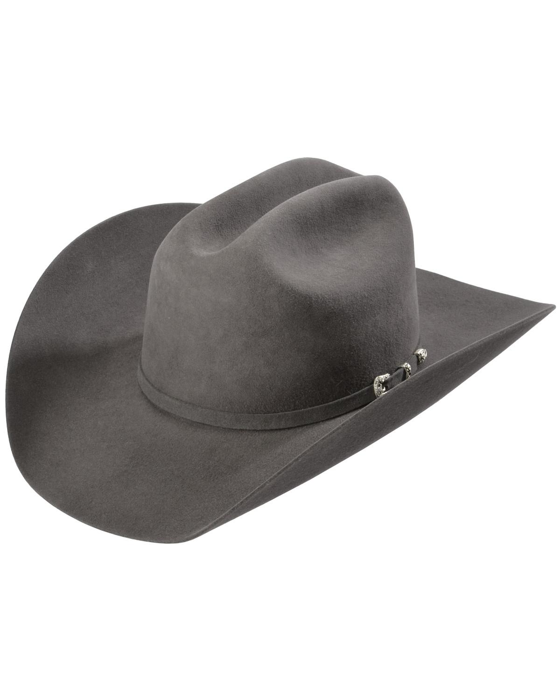 Justin 8x Fur Felt Mustang Cowboy Hat Sheplers