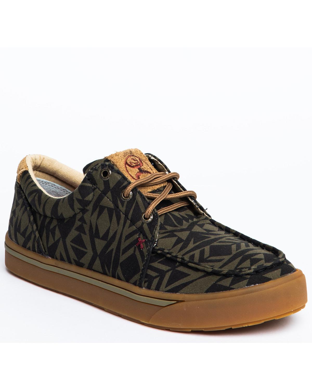 Twisted X Men's HOOey Loper Shoes - Moc