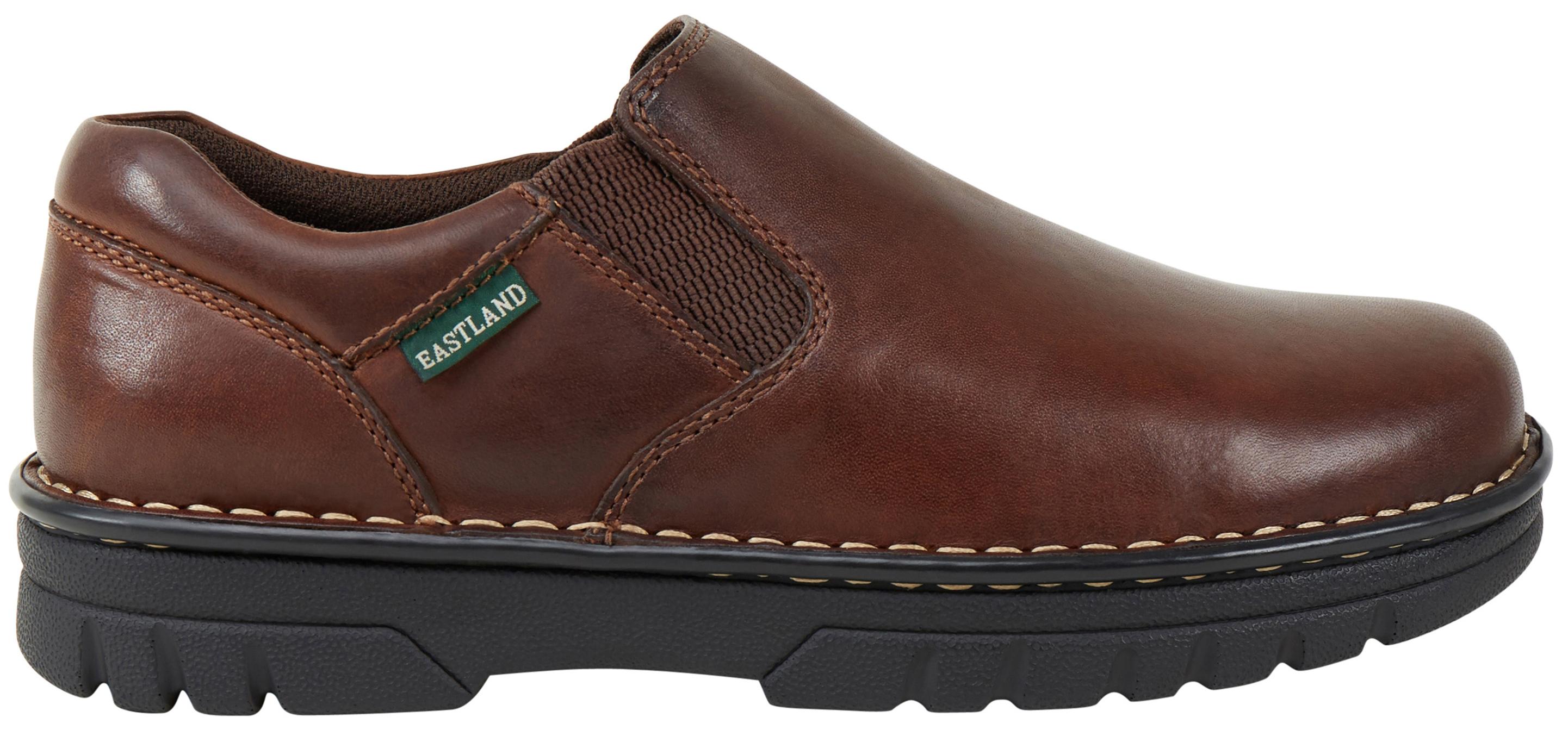 eastland s brown newport slip on shoes sheplers