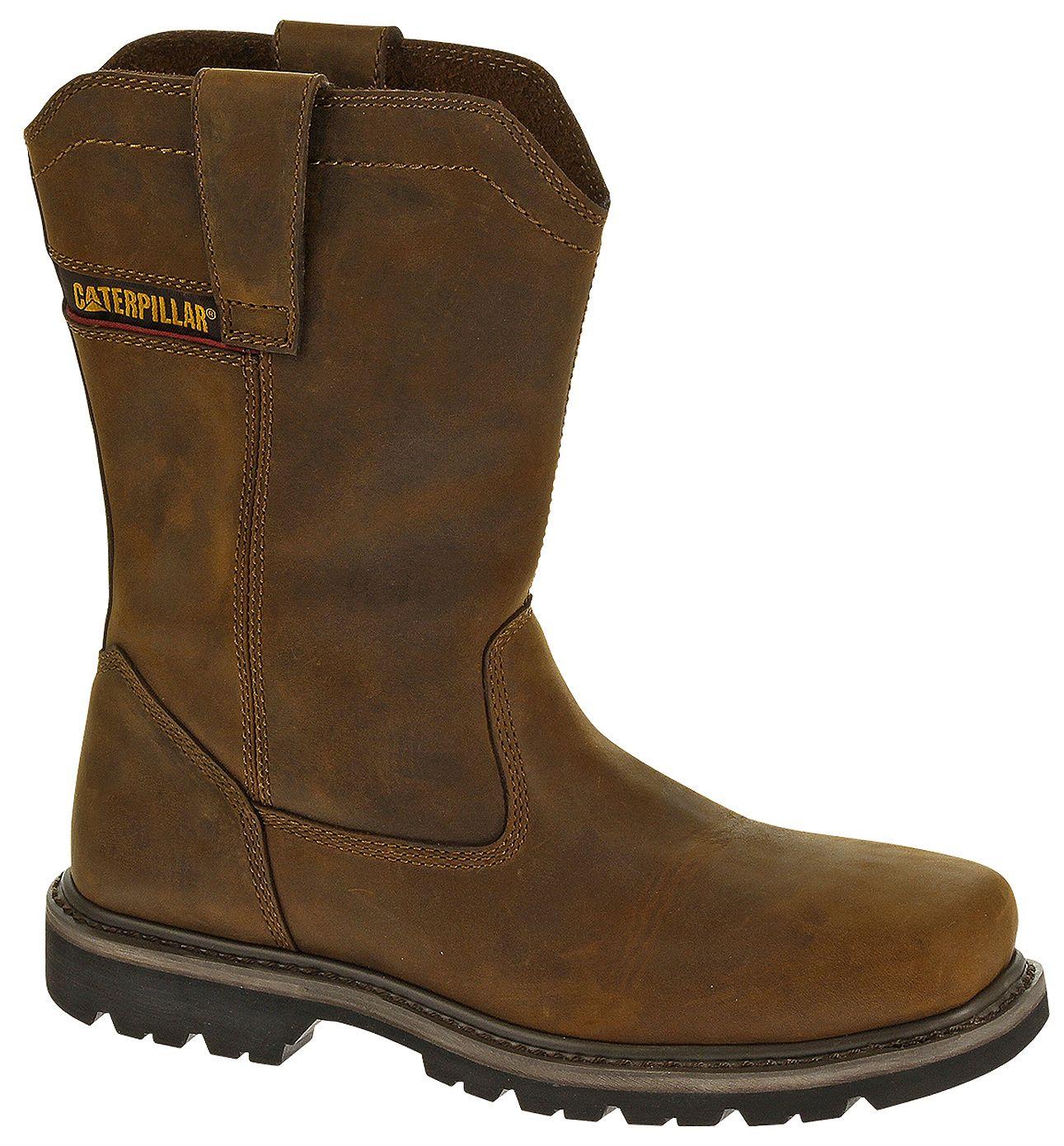 Caterpillar Wellston Pull-On Work Boots
