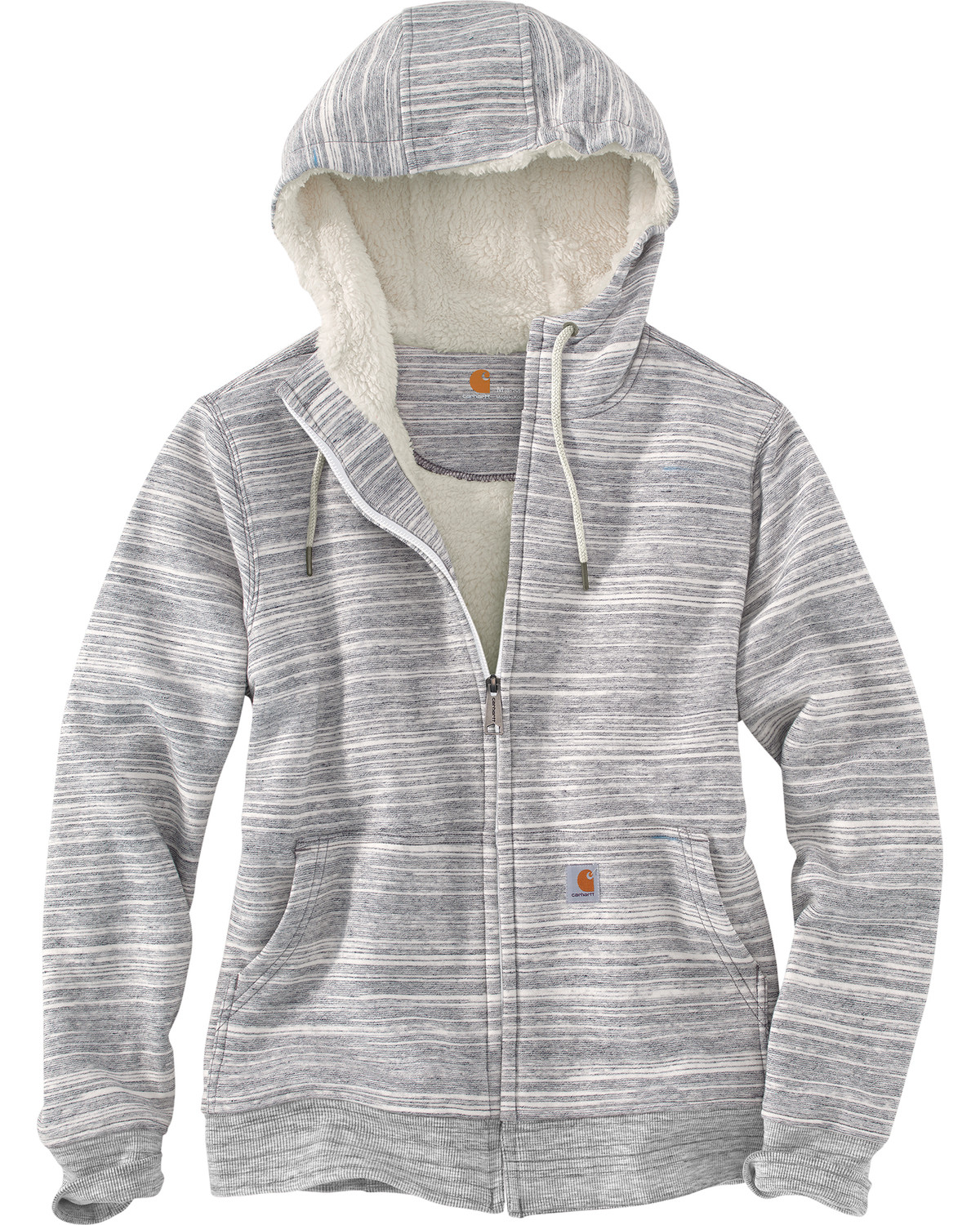 Greylady S Hearth February 2014: Carhartt Women's Grey Clarksburg Sherpa Lined Hoodie
