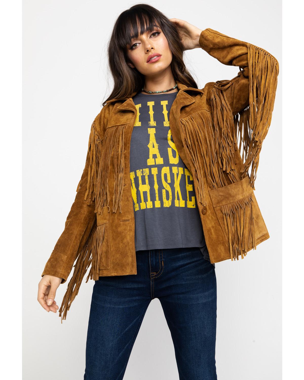 Liberty Wear Fringe Leather Jacket | Sheplers