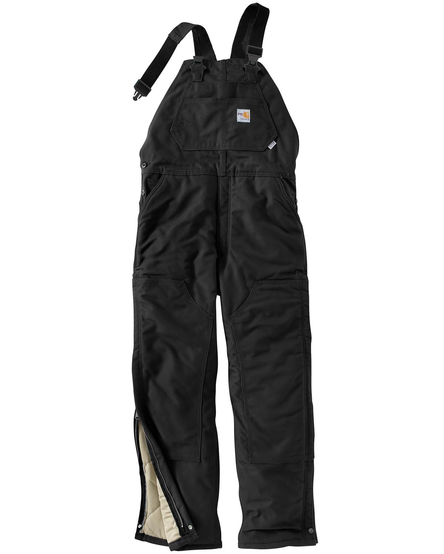 Carhartt Men's Flame-Resistant Duck Quilt-Lined Bib Overalls ... : carhartt quilt lined pants - Adamdwight.com