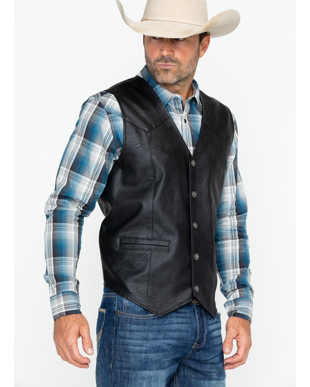 Cody James Men's Black Deadwood Vest   Sheplers