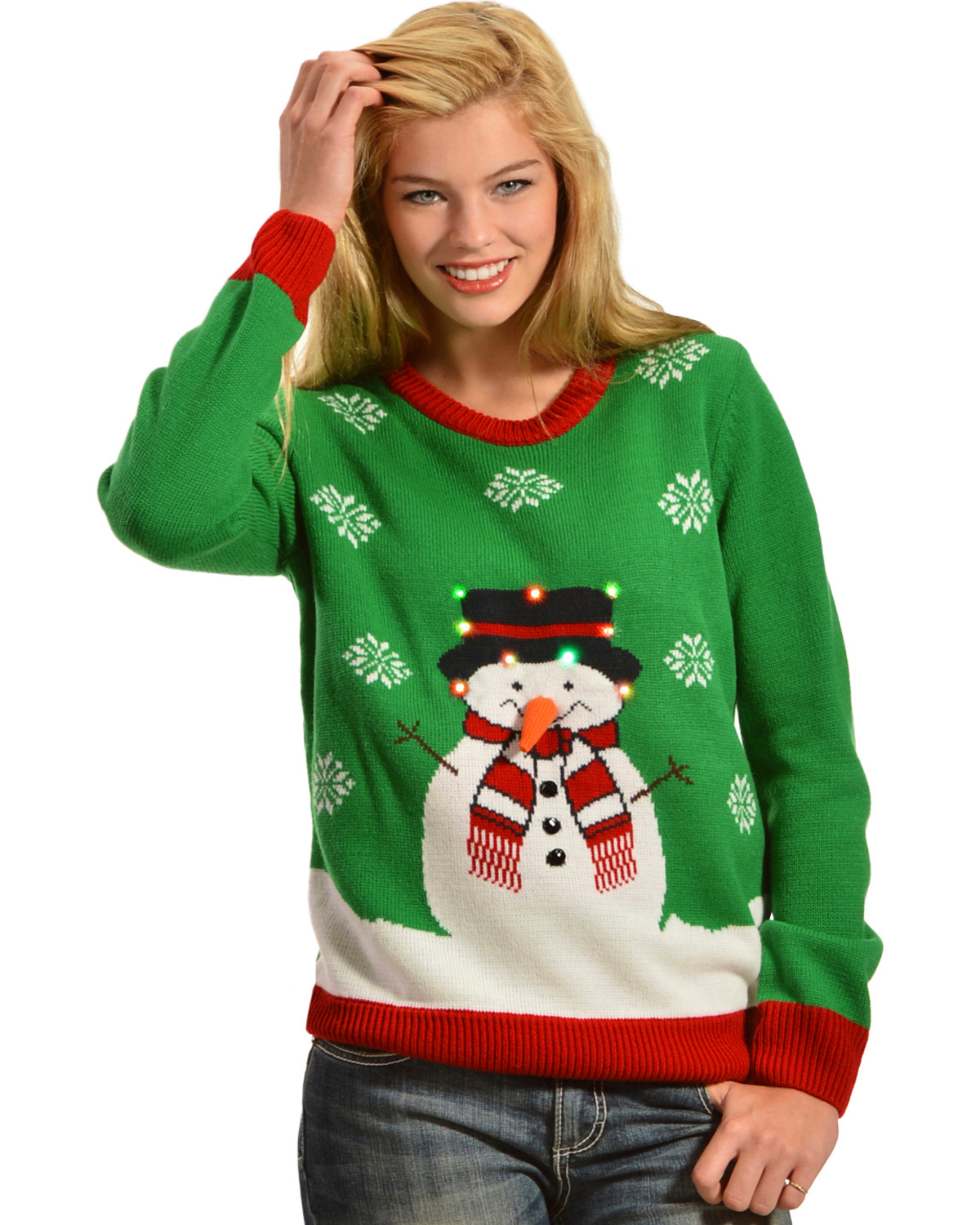 Light it up christmas sweater