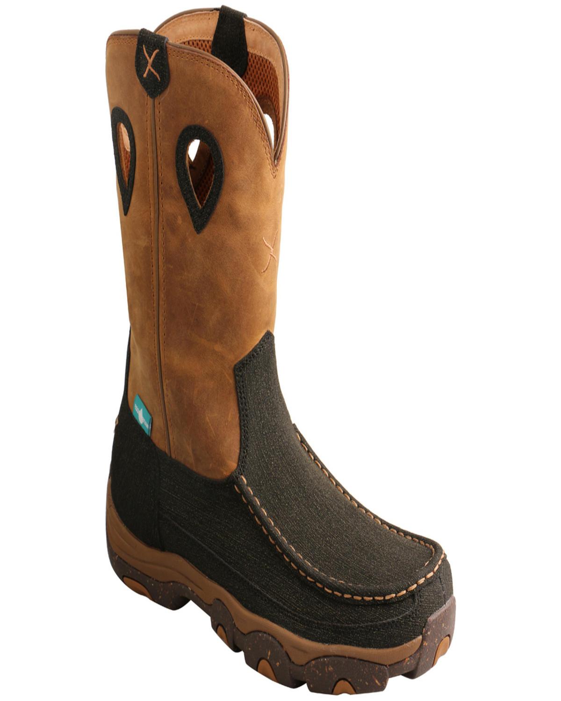 Wellington Hiking Boots - Moc Toe
