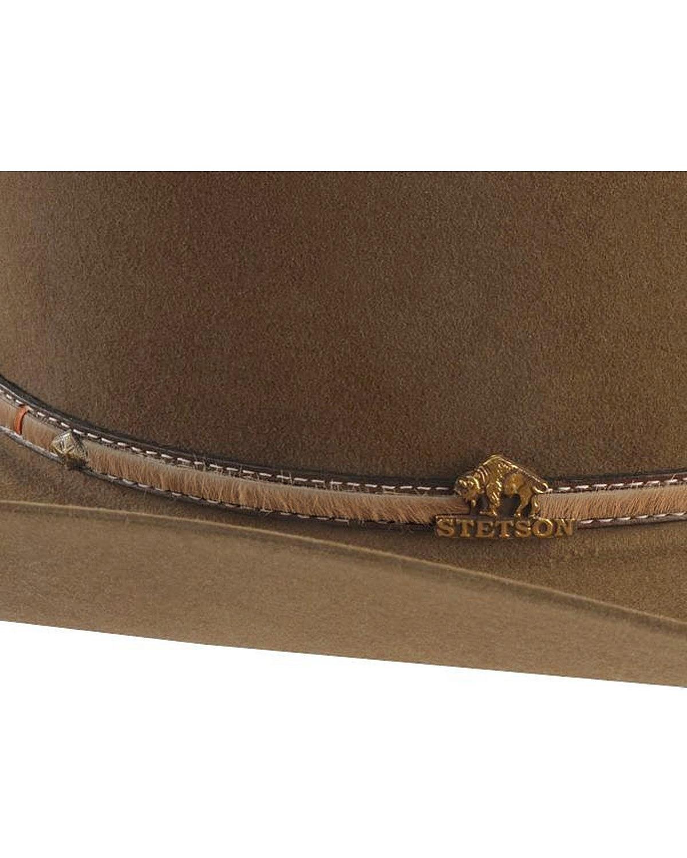 2d6ae8bad67c5 Stetson Powder River 4X Buffalo Felt Cowboy Hat