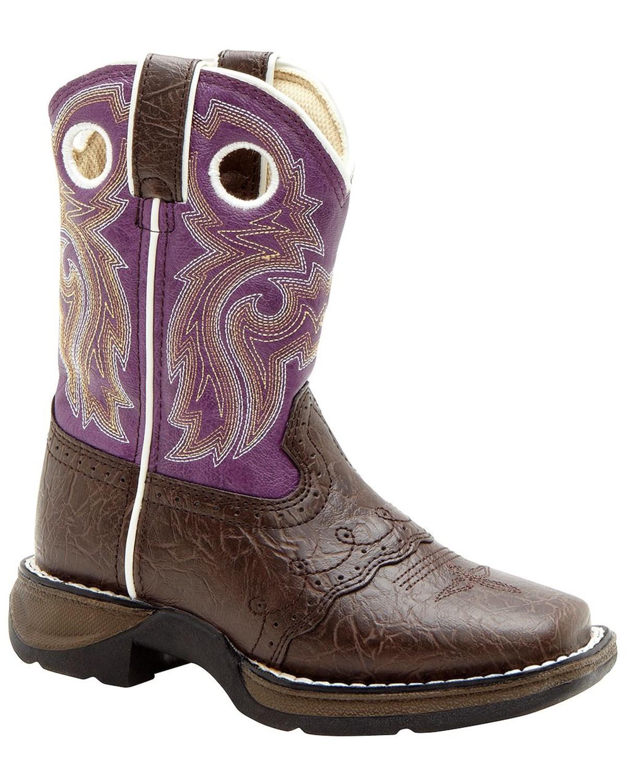 Durango Youth Girls' Purple Cowgirl