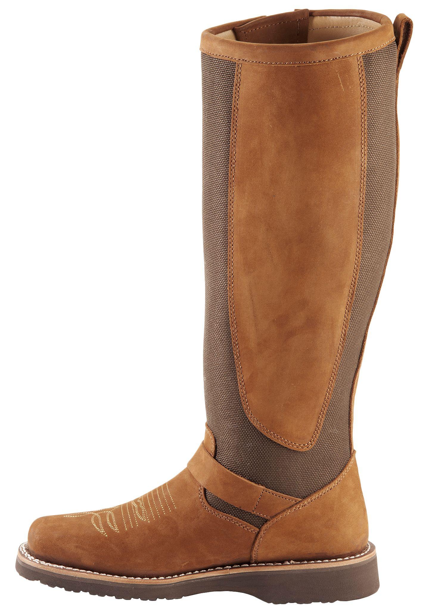 Chippewa Aged Regina Snake Boots Square Toe Sheplers
