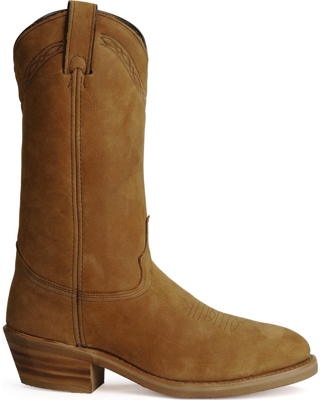 Abilene Cowboy Work Boots Steel Toe Sheplers