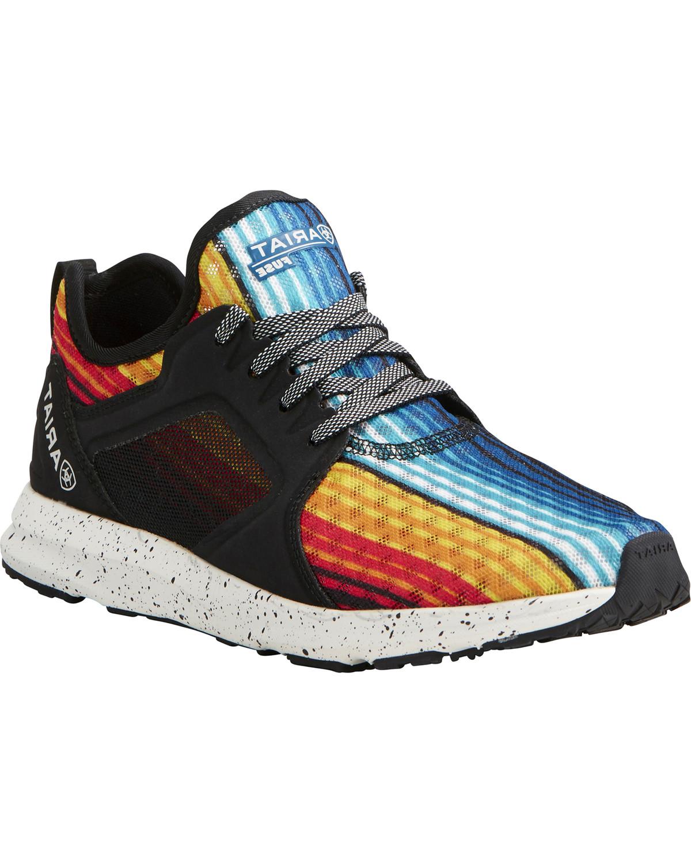 Fuse Rainbow Stripe Mesh Shoes