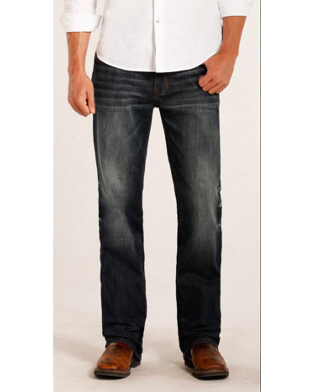 Rock Amp Roll Cowboy Men S Double Barrel Reflex Copper Stitch Jeans Straight Leg Sheplers