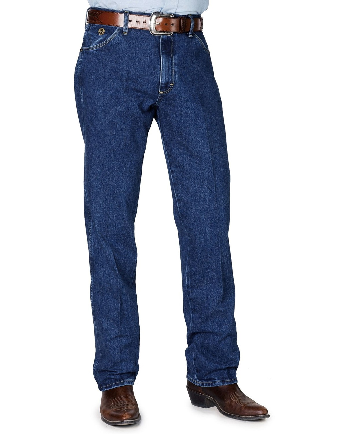 0c93d73a Wrangler Jeans - 31MWZ George Strait Relaxed Fit, Denim, hi-res