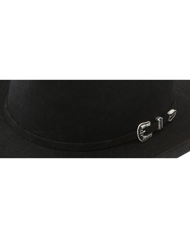 Stetson 6X Skyline Black Fur Felt Cowboy Hat  5a64881e8936