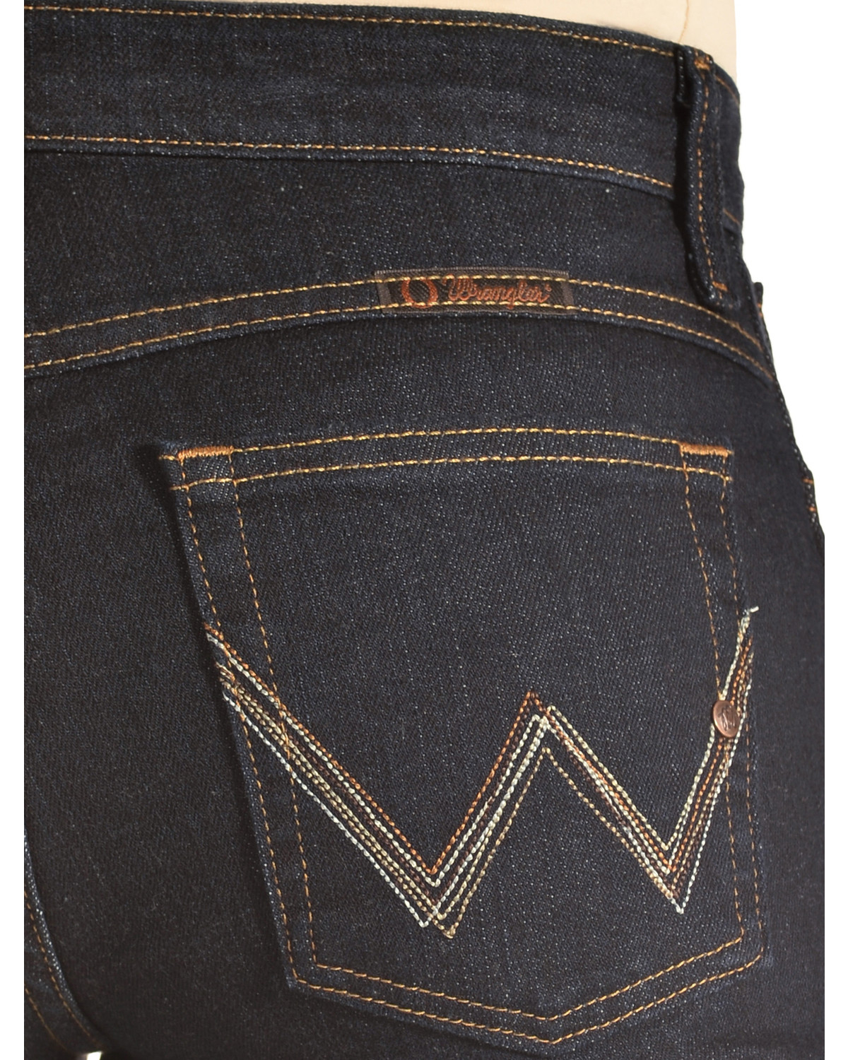 7a56aacda001d Wrangler Women s Dark Dynasty Ultimate Riding Q-Baby Jeans