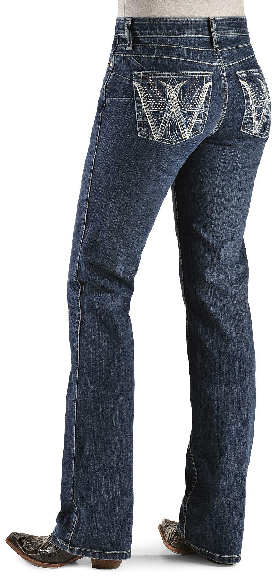 Wrangler Q Baby Booty Up Embellished Jeans Sheplers