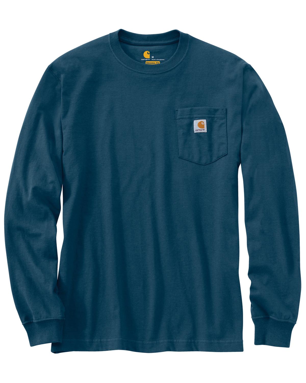 Carhartt Long Sleeve Pocket Work Shirt Tall Sheplers