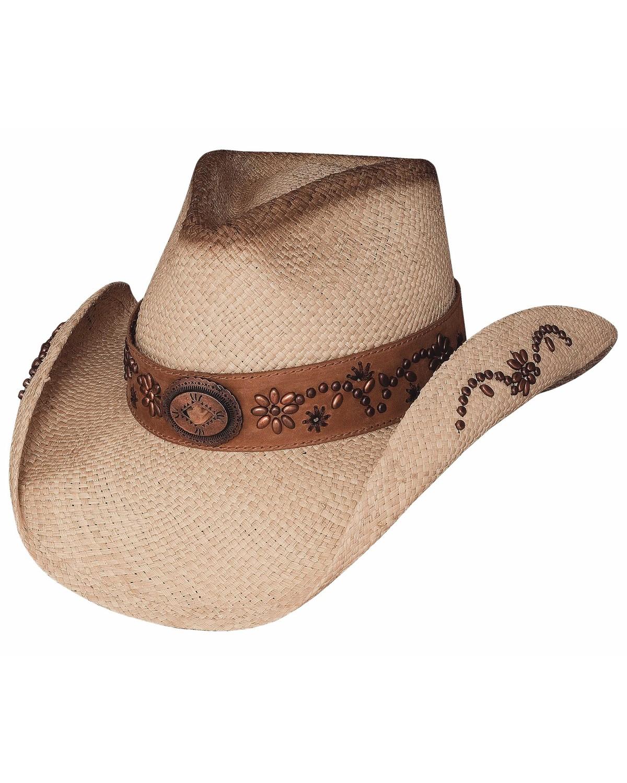a49aeb08f50 Greg Bourdy Straw Cowgirl Hats