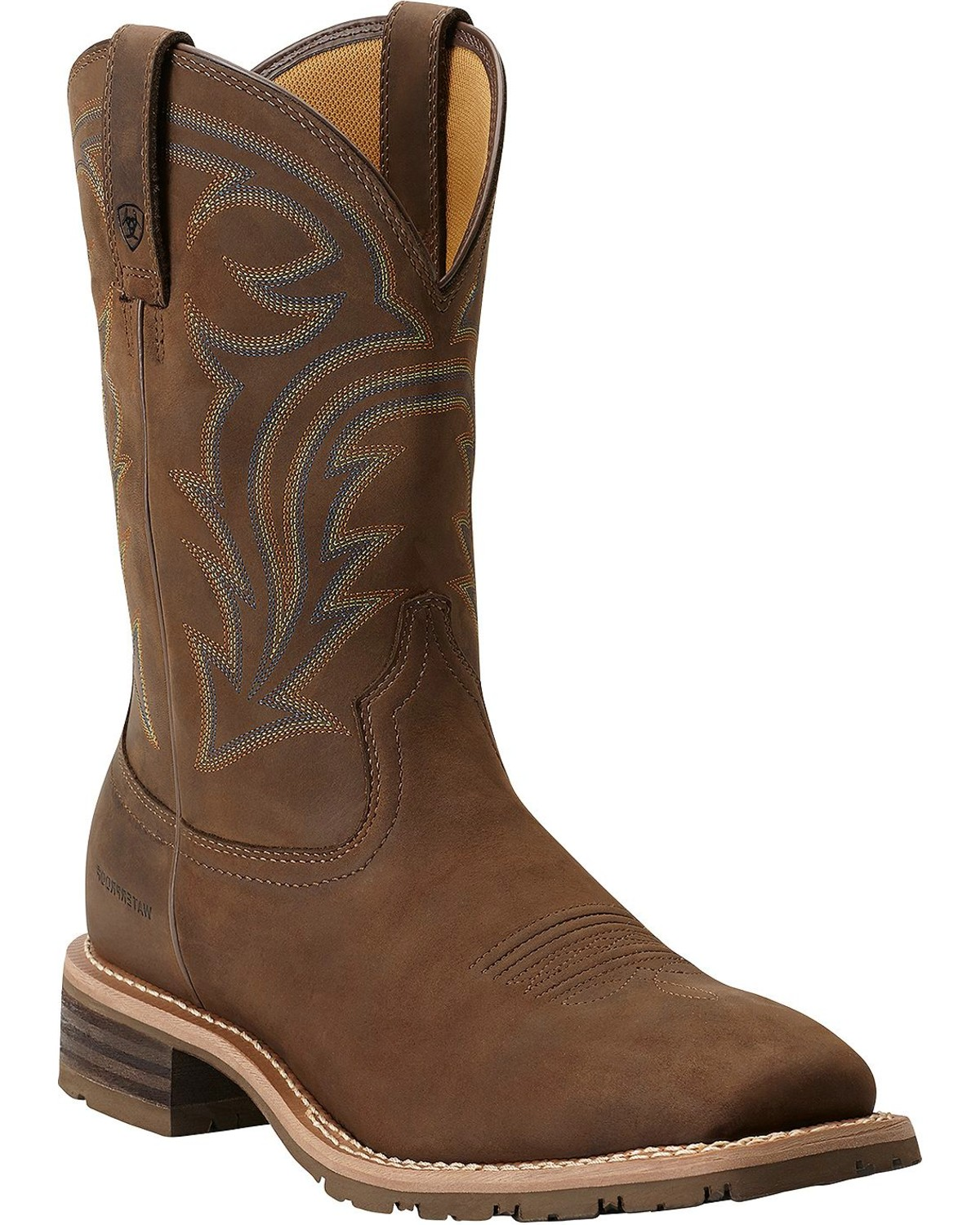 Ariat Hybrid Rancher Waterproof Pull On Work Boots