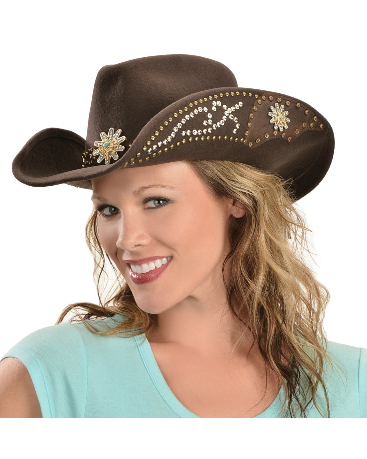 Bullhide Hats Women s Your Everything Embellished Felt Cowgirl Hat ... 9eec02fe970