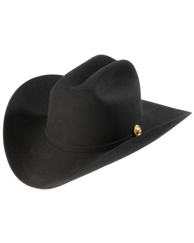 f16440f565f72 ... larry mahan 5x los tigres del norte black felt cowboy hat black hi