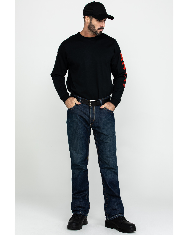 21e9c2e8acb3 Ariat Shale Fire Resistant Bootcut Work Jeans