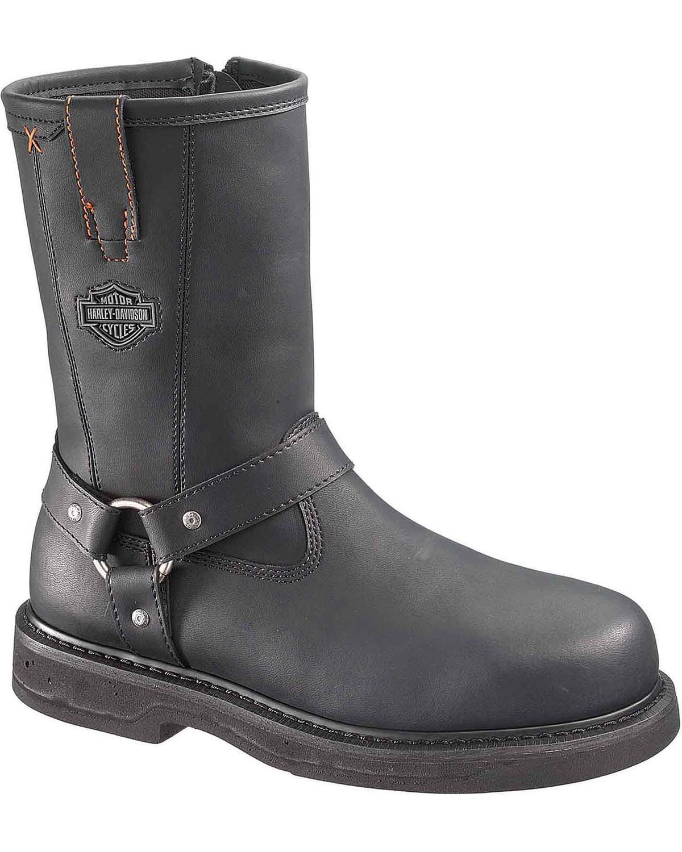 Bill Harness Boots - Steel Toe