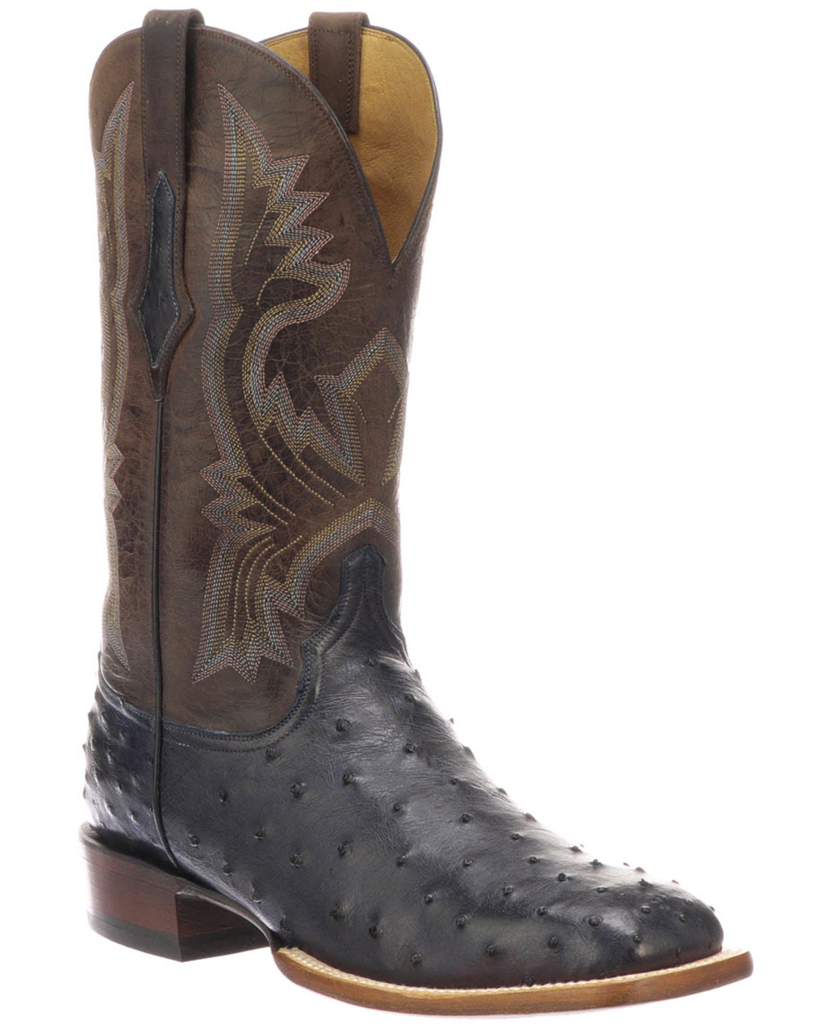 Lucchese Men S Cliff Exotic Western Boots Square Toe