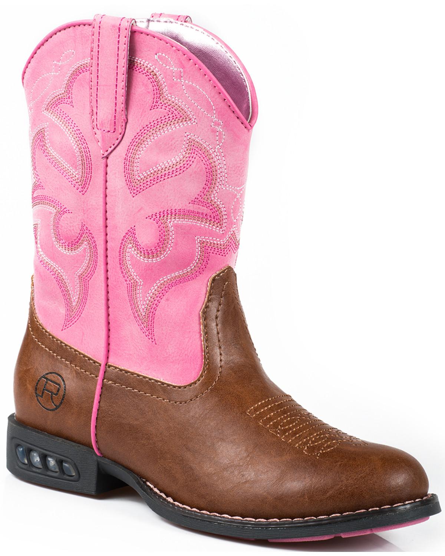 light pink cowboy boots