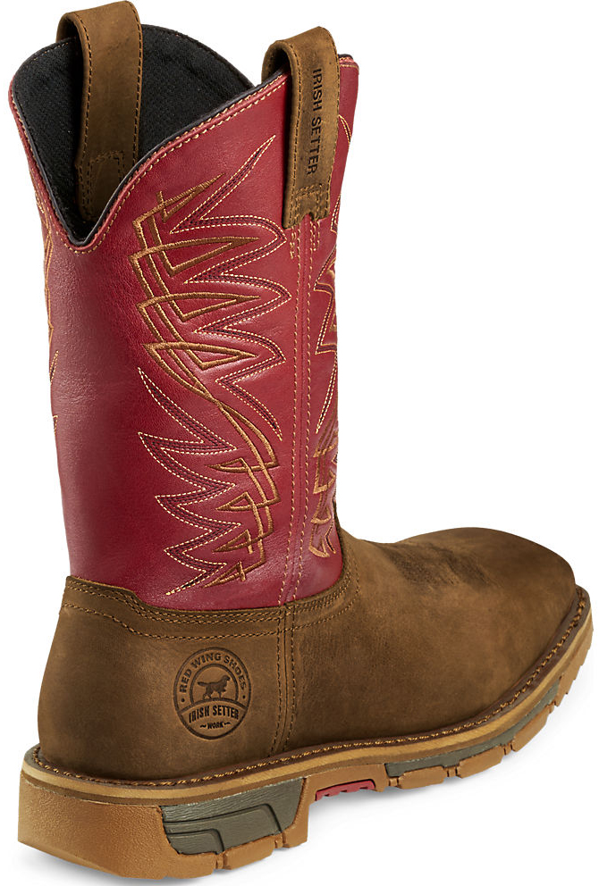 Irish Setter 83604 Aluminum Toe Work Boots - Mens Brown