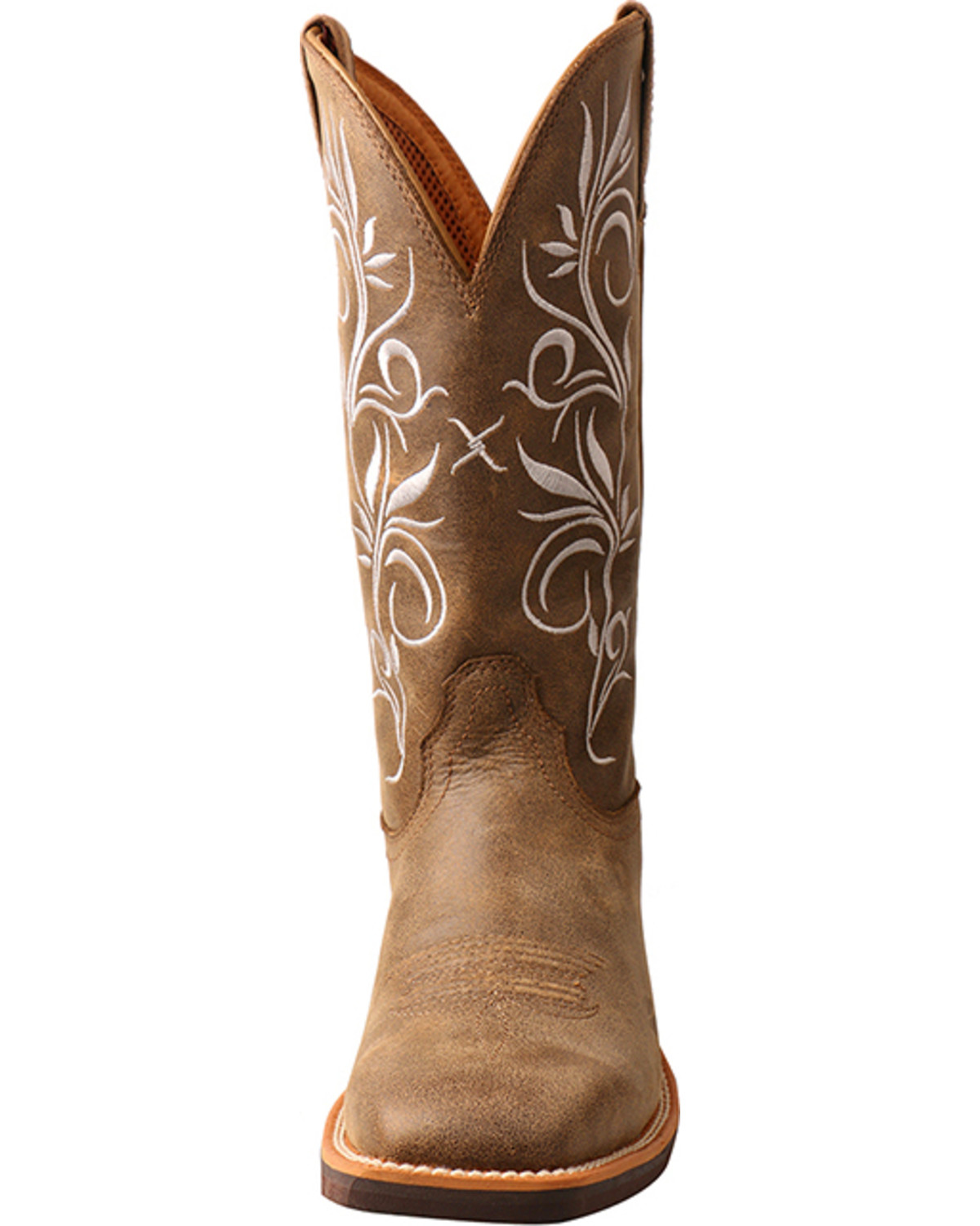 Beautiful Twisted X Womens Ruff Stock Saddle/Turquoise Boots - Western - Boots - Clothing - Apparel
