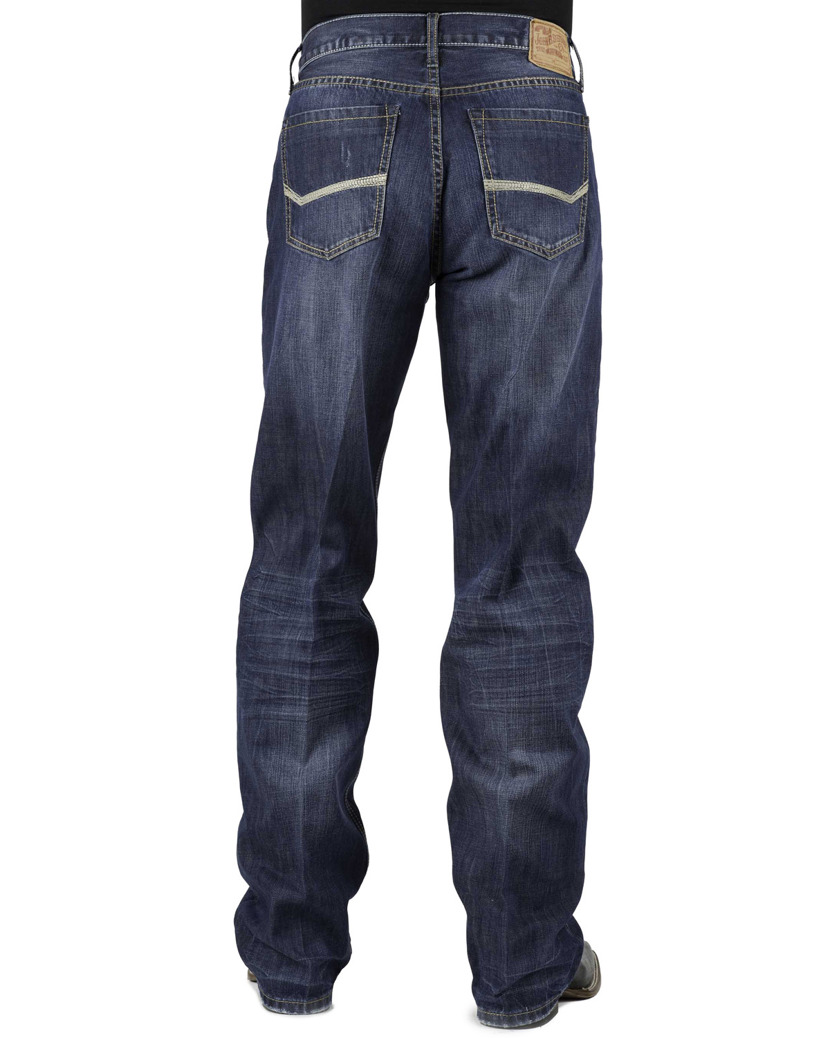 stetson modern fit bold stitched jeans tall sheplers