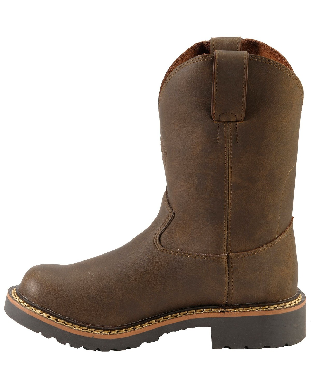Justin Children S Work Boots Round Toe Sheplers